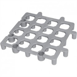 Vogue Plastic Dunnage Floor Rack