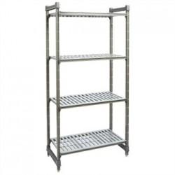 Cambro Camshelving Basics Vented 4 Shelf Unit 910mm