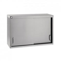 Parry Stainless Steel Sliding Door Wall Cupboard 1500mm