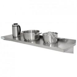 Vogue Stainless Steel Kitchen Shelf 600mm