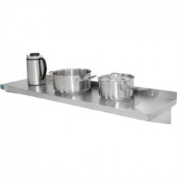 Vogue Stainless Steel Kitchen Shelf 1200mm
