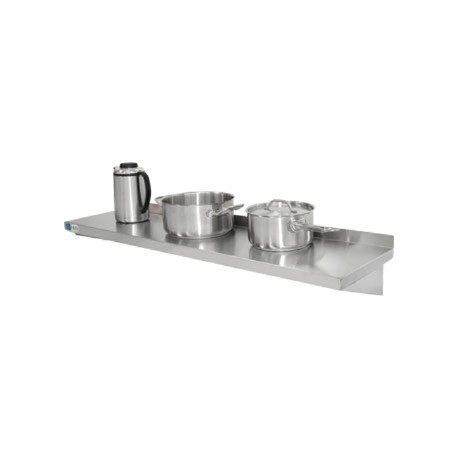 Vogue Stainless Steel Kitchen Shelf 1200mm