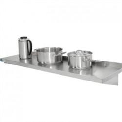 Vogue Stainless Steel Kitchen Shelf 1500mm