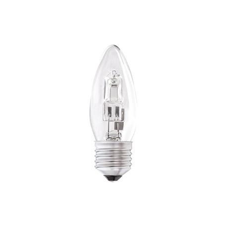 Status Halogen Energy Saving Candle Bulb 42watt