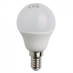 Status LED Mini Globe Bulb SES 4W