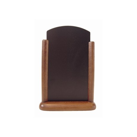 Securit Wooden Table Top Blackboard 15 x 21cm