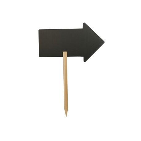 Securit Arrow Silhouette Blackboard