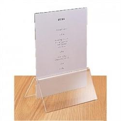 Acrylic Menu Card Holder A5