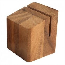 Wooden Menu Holder and Riser