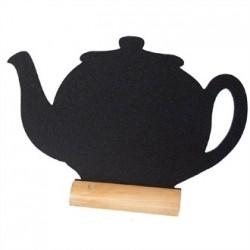 Securit Mini Teapot Shaped Blackboard