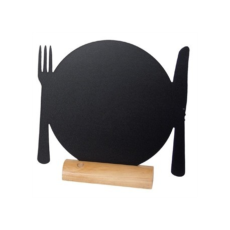 Securit Mini Plate Shaped Blackboard