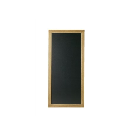 Securit Rectangle Blackboard Teak 56 x 120cm