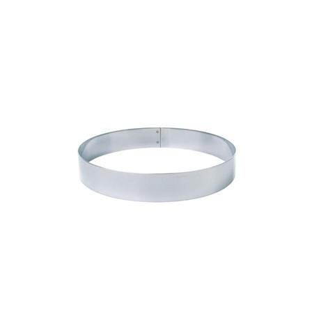 Matfer Stainless Steel Mousse Ring 16cm