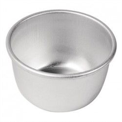 Vogue Aluminium Pudding Basin 105ml