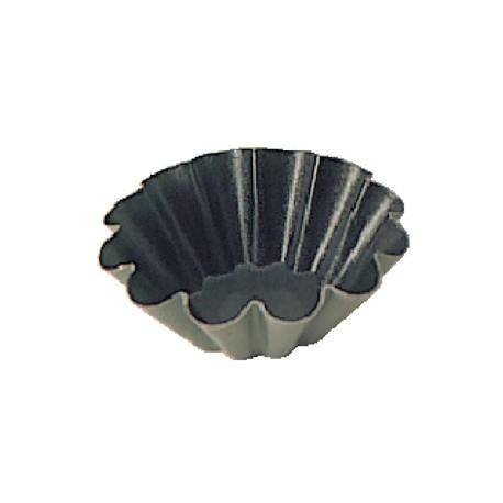 Matfer Non-Stick Mini Brioche Moulds 7.5cm