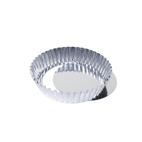 Matfer Deep Fluted Quiche Tin With Removable Base 10cm