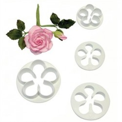 PME Petal Pastry Cutters
