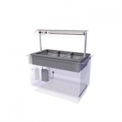Designline Drop In Dry Heat Bain Marie HBM3