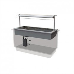 Designline Drop In Dry Heat Bain Marie HBM4