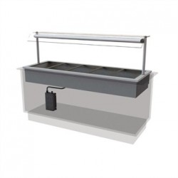 Designline Drop In Dry Heat Bain Marie HBM5