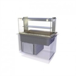 Kubus Drop In Chilled Deli Serve Over Counter 1525mm
