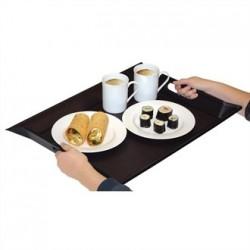 Freeform Foldable Tray Grey and Black Large