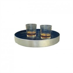 Olympia Round Non Slip Drinks Tray 13 in