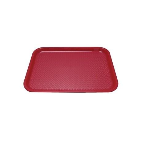 Kristallon Plastic Tray Small Red
