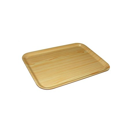 Olympia Rectangular Wooden Birch Tray 17 x 13 in