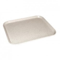 Kristallon Fibreglass Tray Light Grannite 12 x 16 in