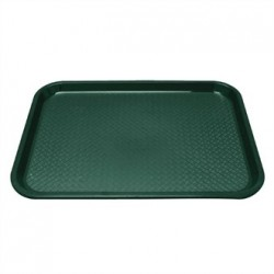 Kristallon Plastic Foodservice Tray Medium in Green