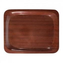 Cambro Ultimate Tray 9.25 x 12.75 in Mahogony