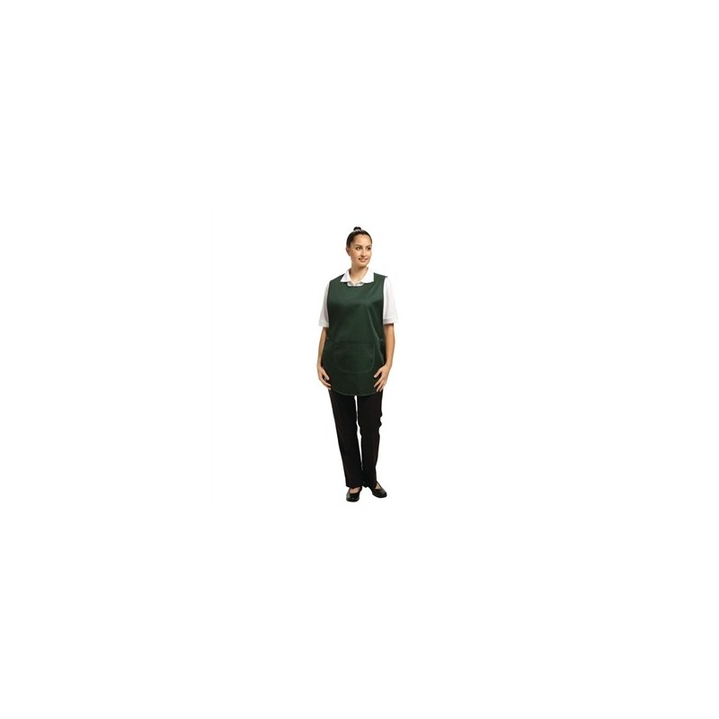 541bf117a4f232 Tabard With Pocket Forest Green Small - Nella Online