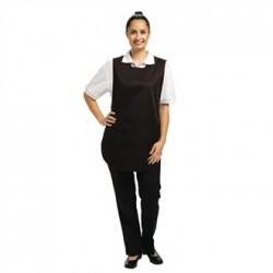 Tabard With Pocket Black Large