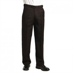 Mens Waiting Trousers Black Size 38In