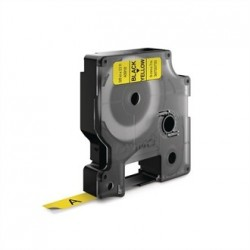 DYMO D1 Tape refill 9mm Black on Yellow