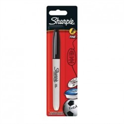 Sharpie Fine Permanent Marker Black Blister
