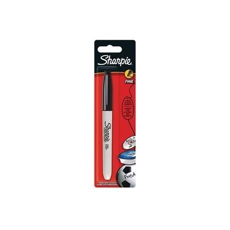Sharpie Fine Permanent Marker Black Blister