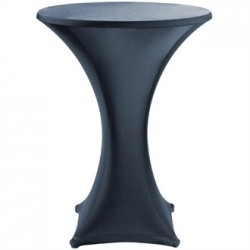 Jersey Stretch Table Cover - Black