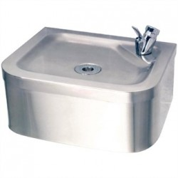 Franke Sissons Stainless Steel Centinel Wall Mounted Drinking Fountain