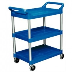 Rubbermaid Compact Utility Trolley Blue