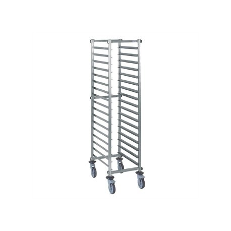 Tournus Self Assembly GN1/1 Racking Trolley 20 Levels