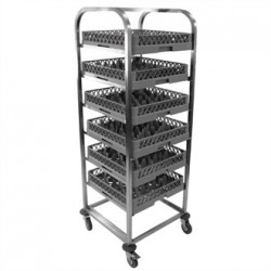Craven Stainless Steel Dishwasher Basket Trolley