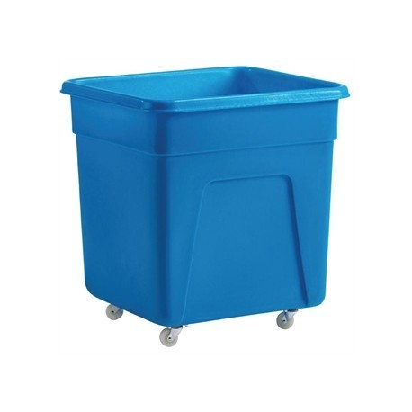 Blue Polyethylene Trolley Large