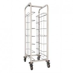 Craven Steel Tray Clearing Trolley