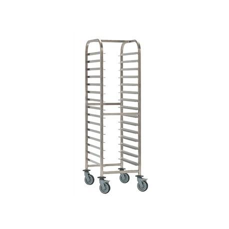 Bourgeat Patisserie Racking Trolley 15 Shelves