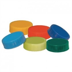 Coloured Caps for FIFO Sauce Dispenser Bottles