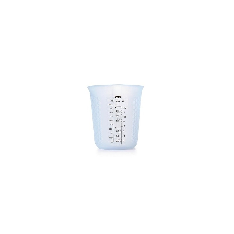 OXO Good Grips Squeeze and Pour Silicone Measuring Cup 500ml - Nella Online