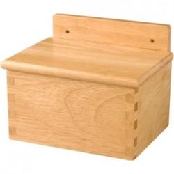 Vogue Wooden Salt Box