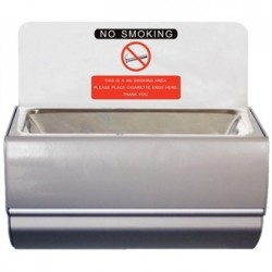 Bolero Wall Mounted Ashtray with Sign